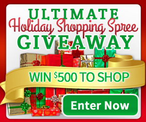 The Ultimate Holiday Shopping Spree Giveaway