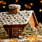 Good Enough to Eat: A Gingerbread House for the Generations